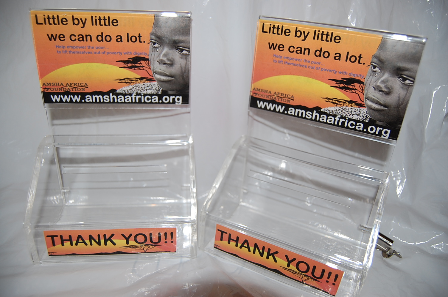 AAF Donation box