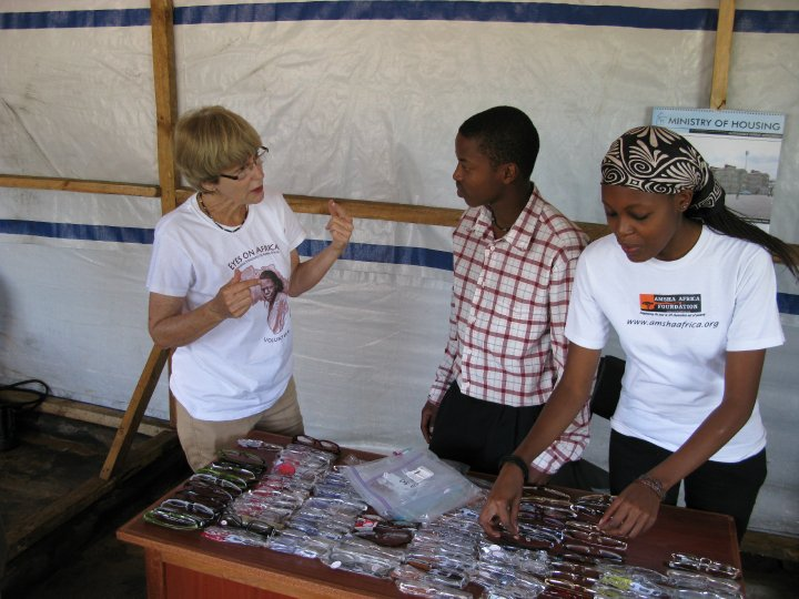 AAF Eyeglass Distribution