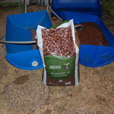 Expanded Clay Pebbles for grow beds